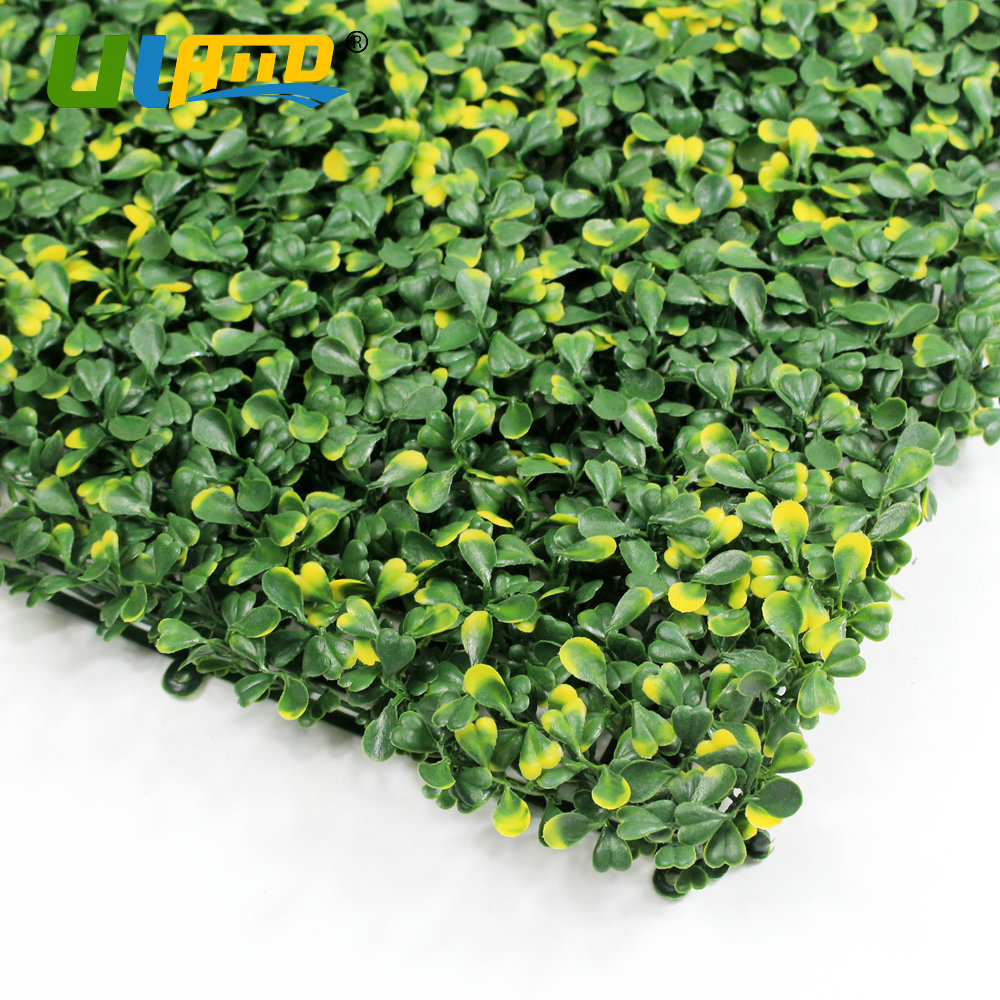 ULAND Kunststoff Blätter Pflanzen Panels Künstliche Buchsbaumhecke