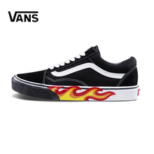 d17edd753e Original New Arrival Clássico Old Skool Vans dos homens   das Mulheres de  Baixo-top Sapatos de Skate Tênis de Lona Confortável V..