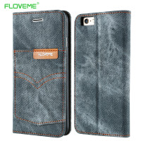 FLOVEME Original Brand Cowboy Pocket Cloth Cover Case For IPhone 6 6S 6 6S Plus Retro