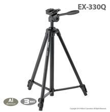 Free Shipping!!Velbon EX-330Q Camera photo Tripod w/Panhead 1458mm Load:1.5kg