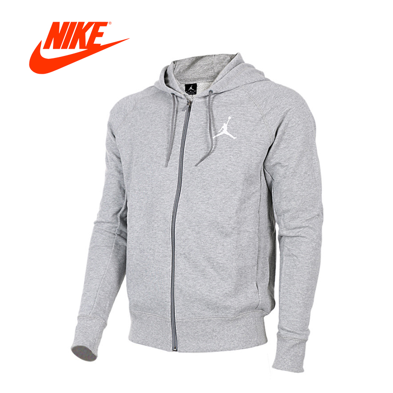 Nike men's Jordan sports leisure running Hooded Jacket спортивные шорты nike air jordan nike jordan aj5