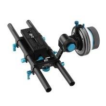 FOTGA DP500IIIS Quick Rlease Dampen Follow Focus A/B Hard Stop for 5DII III 7D D90 etc DSLR Cameras w/ DP500 III Rail System