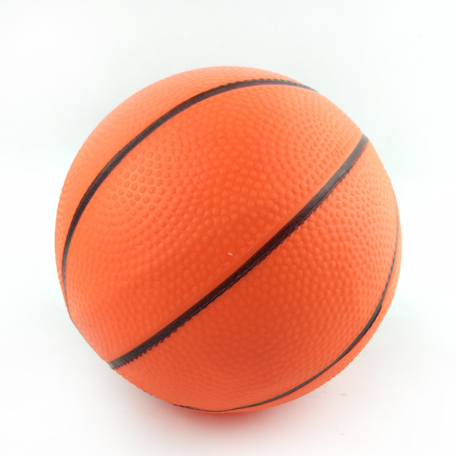 12cm Dia Children Mini Basketball Ball Toy High Bounce Soft Basketball For Kids Exercise Stress Relief Toys Basketball