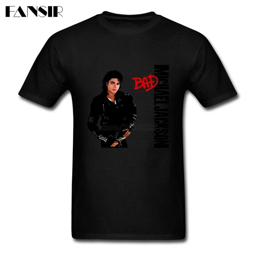 2b4cfa528 New Summer Michael Jackson Bad Graphic T shirt Man Short Sleeve Organic  Cotton Men Tee Shirt Tops Tee 3XL-in T-Shirts from Men's Clothing on  Aliexpress.com ...