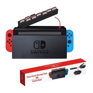 Image 1 - Nintend スイッチゲームカードケース収納ボックスホルダーカートリッジ 28 ゲームカードスロット Nintendos スイッチドッキングコレクション