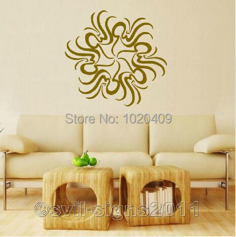 Y070 high quality islamic wall vinyl sticker decals arab for Quality home decor