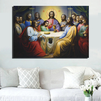 Jesus Christianity Posters For Living Room Wall HD Print Religions Art Canvas Paintings Christianity Home Decorative