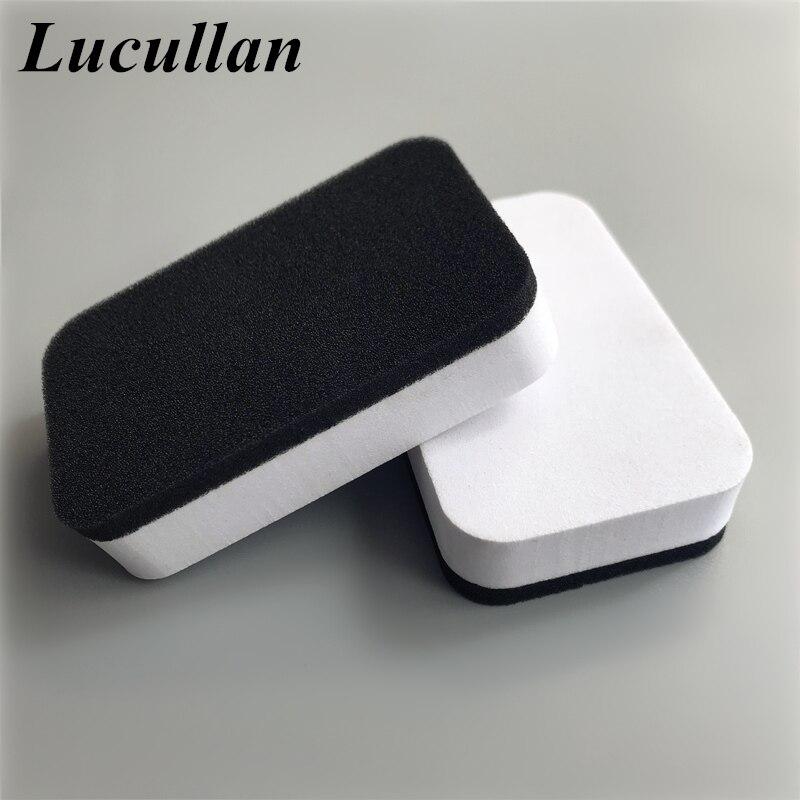 Lucullan Promotion Sale Car Liquid Ceramic Coat Tools Auto Glass Care Protection Applicators Nano Paint Coating Sponges