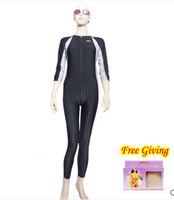 Plus Size Scuba Diving 0.5mm Fastskin Triathlon Suit Neoprene Wetsuit Mergulho buceo roupa feminina Long Swimming Suit for Women