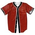 Я Чувствую, что El Chapo Джерси ПАНК мужские рубашки 3d костюмы Уличной рубашка топы с Однобортный летом стиль прохладно тройники