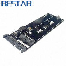 For MacBook Air SSD HDD to SATA 22Pin Hard Disk Cartridge Enclosure Drive PCBA adapter card