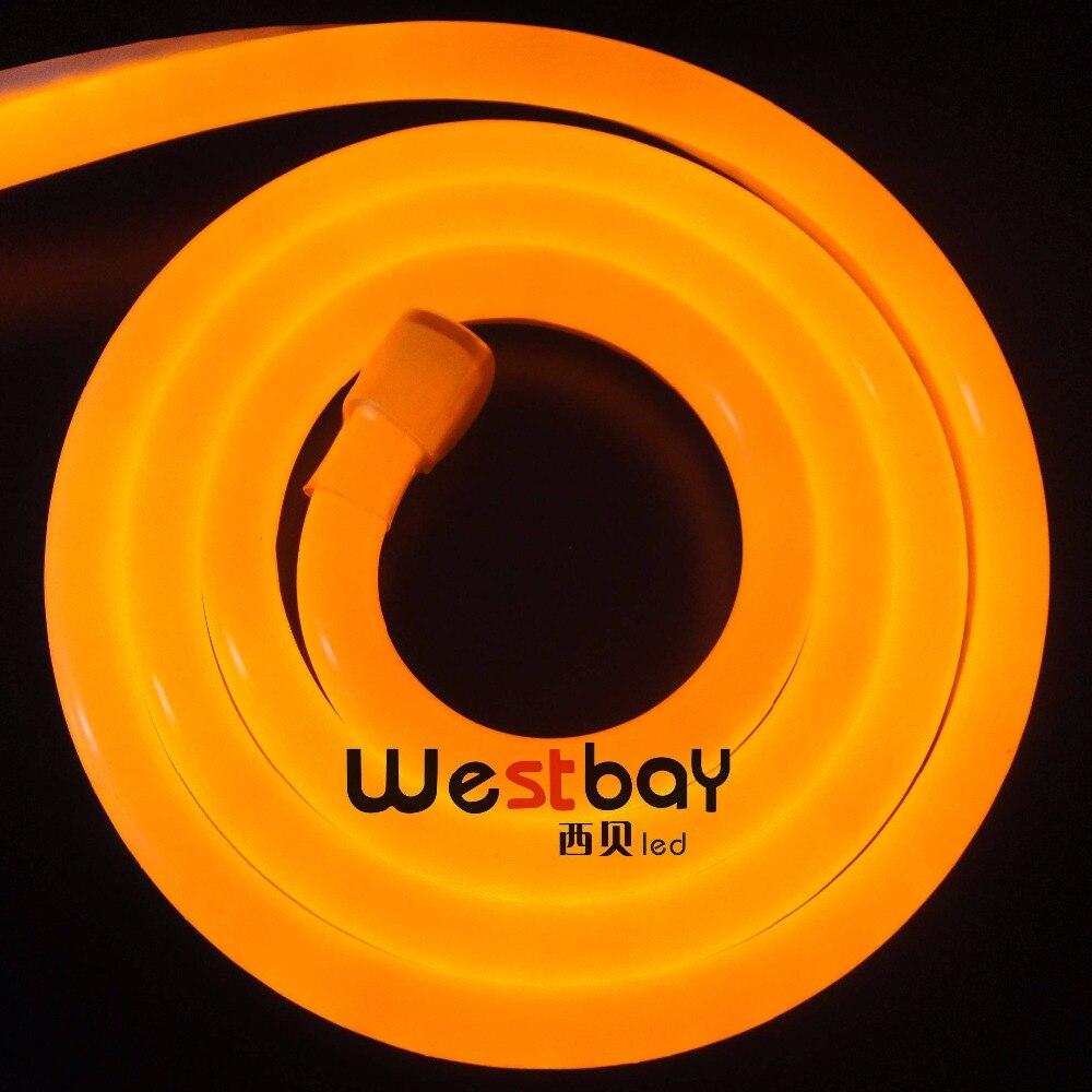 10M/Lot  240V 16*27MM led neon flex light in red, green, blue,yellow,orange,pink, white and warm white color for DIY lighting stark outpost 16 2016 blue orange