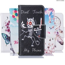 Case for Huawei Y3 ii 2 Y3ii LUA-L21 LUA-U22 Leather Flip Cover Wallet Case Holder Y 3 II 2 LUA L21 U22 Mobile phone bag on Capa(China)