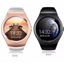 NOVA Smartwatch V365 Círculo Completo Bluetooth Câmera Remota Pedômetro Monitor de Sono Disque Chamada Lembrete Mensagem Inteligente Para IOS Android