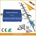 Completo kit GSM 900 mhz Celular Repetidor de Sinal 2G GSM Ganho de 65dB Amplificador + GSM Mobile Phone Signal Booster GSM 900 Cellualr antena
