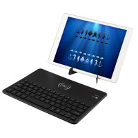 Universal Tablet Keyboard Backlit LED Wireless Bluetooth Keyboard With Wireless Charging Function For Mobile Phone