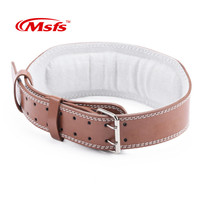 High Quality Weightlifting Belt PU Leather Gym Fitness Dumbbell Lumbar Support Crossfit Musculation Weight Lifting Belt