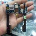 Peças de reposição para htc butterfly s 901e 901 s cabo flex + mic, Botão de energia & Conector Titular SIM