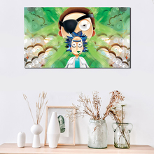Rick And Morty Vector Wallpaper Wall Art Canvas Poster Print Painting Oil Decorative Picture For Bedroom Home Decor