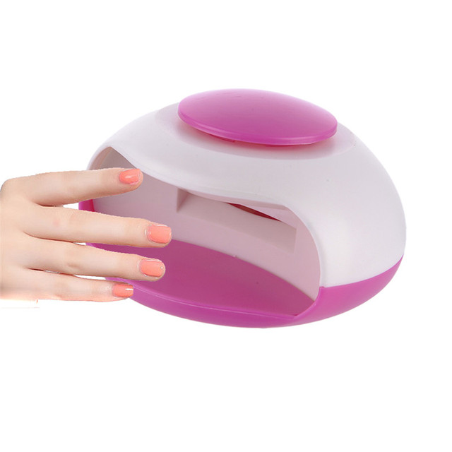 Mini Manicura Fototerapia Esmalte de Uñas Secador De Aire Portátil ...
