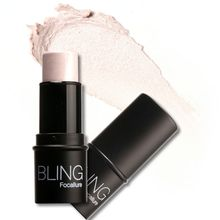 Waterproof Silver Shimmer Light Texture Highlighter Bling stick All Over Shimmer Highlighting Powder Creamy