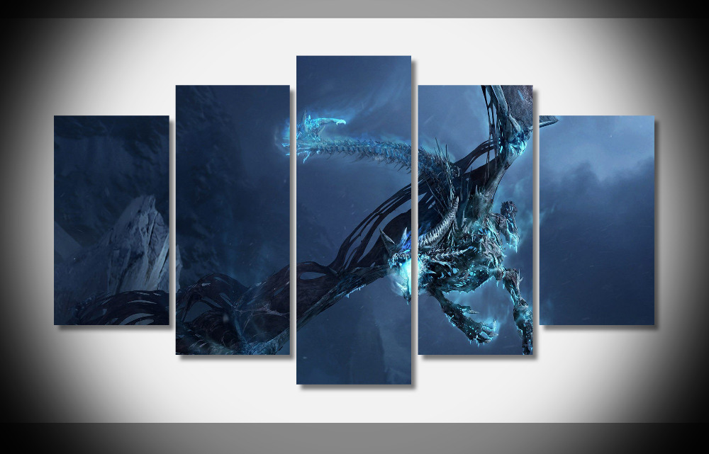 6889 world of warcraft dragons pic poster Framed Gallery wrap art ...