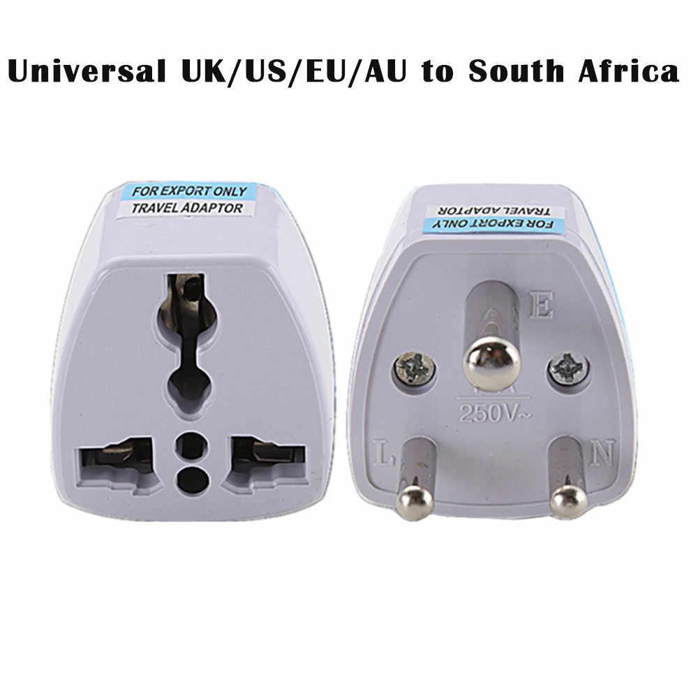 جديد إلى القليل جنوب أفريقيا 3 دبوس مقبس مناسب لجميع الأنواع المملكة المتحدة/الولايات المتحدة/الاتحاد الأوروبي/الاتحاد الافريقي قابس الدولي أطقم السفر الطاقة قابس مهايئ # BL5