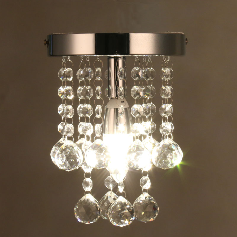 Modern Crystal Chandelier Mini RainDrop Small Lighting for Bedroom Living Room Ceiling Lamp Corridor Hallway Lamp Home FixtureModern Crystal Chandelier Mini RainDrop Small Lighting for Bedroom Living Room Ceiling Lamp Corridor Hallway Lamp Home Fixture