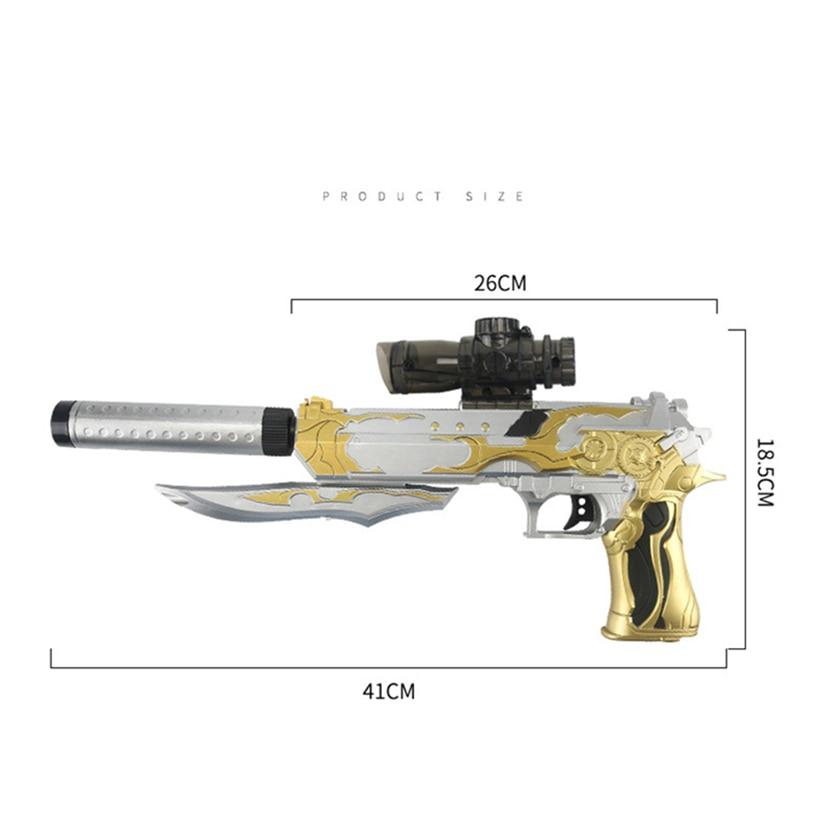 2019 vente chaude jouet pistolets pistolets eau douce cristal balles infrarouge pistolets jouets pour enfants en plein air CS jeu enfants garçons cadeaux