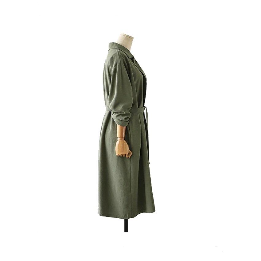 Femmes Tranchée vent Feminino L'automne Vogue Pour Mode Manteau Jupettes Ouvrir New Casual Beau Hauts Outwear Point Longue Cardigan Coupe b A 4EnzqgqIw