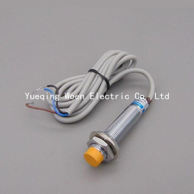 LJ12A3 4 Z/BX näherungsschalter 24 V drei draht DC NPN schließer M12 ...