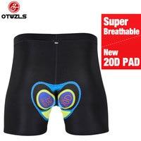 OTWZLS Bicycle Men S Cycling Underwear 20D Gel Padded Cycling Shorts Pad Bike Bicycle Underpants Bike