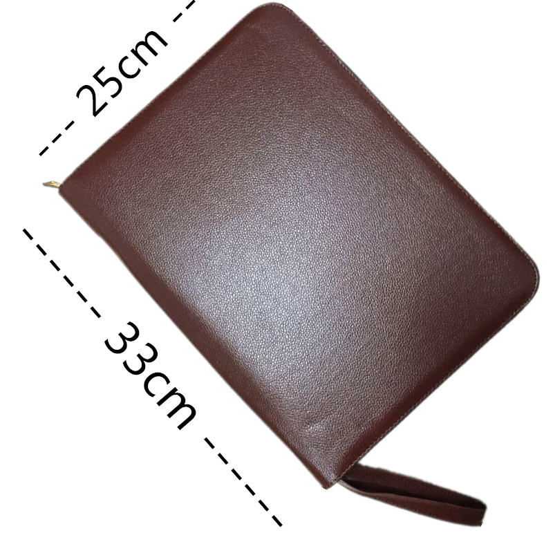 Fountain Pen Case 48 Leather New Coffee Color AR12 New Arrival new arrival iron