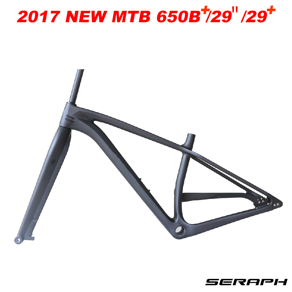 27.5 plus 29er 29 plus full carbon fiber bike frame mountain bike mtb bike frame,Carbon Frame MTB 29+ Through Axle 12x148mm 2017 mtb bicycle 29er carbon frame chinese mtb carbon frame 29er 27 5er carbon mountain bike frame 650b disc carbon mtb frame 29