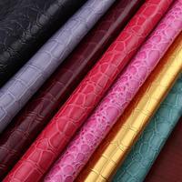 100x135cm PVC Crocodile Leather Sofa Material Artificia Fabric Leather Car Seat Synthetic Leather Diy Guantes Lavado
