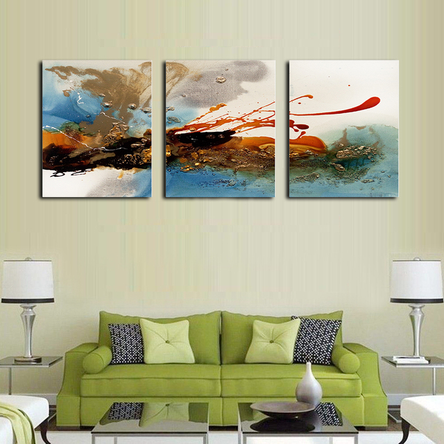 No Frame Abstract Nordic Boutique Modern Fashionable Canvas Oil Painting Poster Creative Wall Art Picture Printed For Home Decor