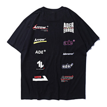 2019ss ADER Arrow Different Logos Printed Women Men T shirts
