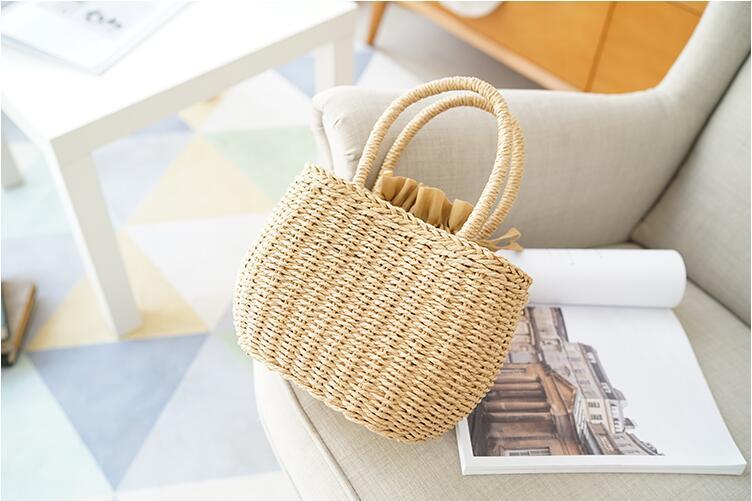 Berömda Designer Ladies Vävda Knitting Messenger Crossbody Väskor - Handväskor - Foto 4