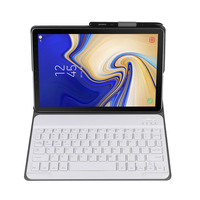Ultra Thin Split Wireless Bluetooth Keyboard Leather Case for Samsung Galaxy Tab A 10.1 inch T510 Tablet Keyboards Cases