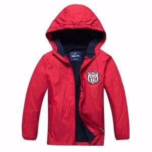 Image 2 - Chaquetas de lana impermeables para bebés, ropa de abrigo para niños, trajes para niños de 3 a 14 años