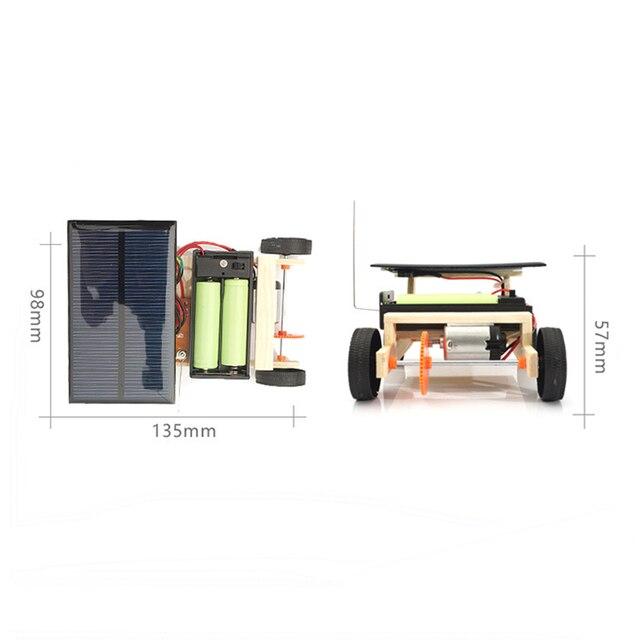 Solar Power Wireless RC Car Toy 4