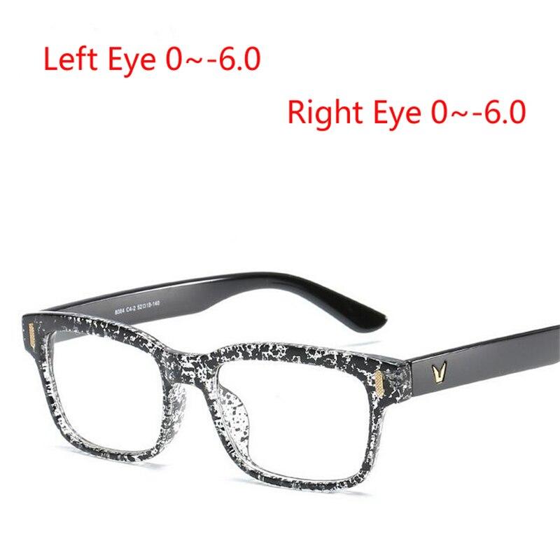 e812a12475 Eyesilove ultra-luz terminado miopía gafas mujer miope gafas TR90 marco  dama corta vista anteojos