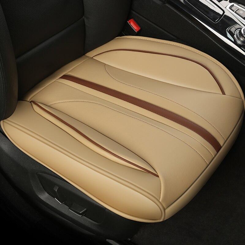 Ultra-Luxo Único Assento Assento de Carro Tampa de Assento Do Carro Auto Tampas de Assento Assento de Carro Almofada de Proteção Para bancos de automóveis tampa de assento Sedan & SUV