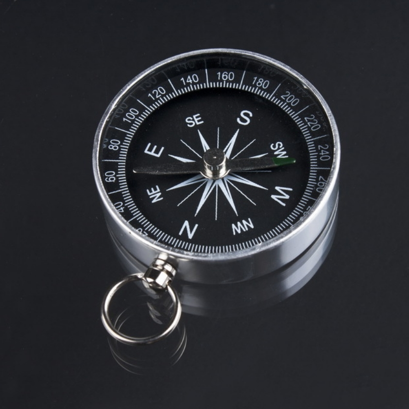 Pocket Mini Hiking Camping Lightweight Aluminum Outdoor Emergency Compass Navigation Wild Tool  EDC Survival Compass  Pocket Mini Hiking Camping Lightweight Aluminum Outdoor Emergency Compass Navigation Wild Tool  EDC Survival Compass