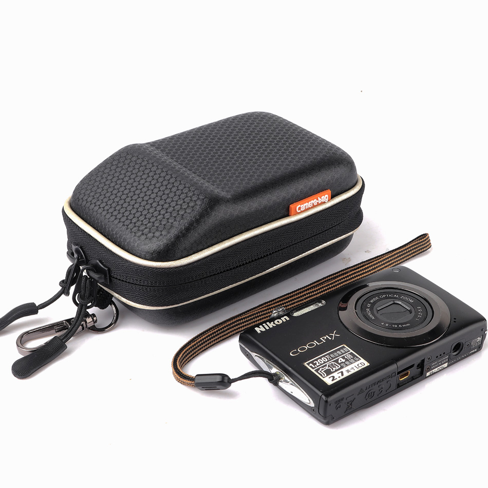 HUWANG Camera Bag Case For Sony RX100 W570D W350D WX60 WX200 WX100 WX170 J20 WX80 W730 W710 W570 W530 TX1 WX1 H55 WX300 TX30 J10
