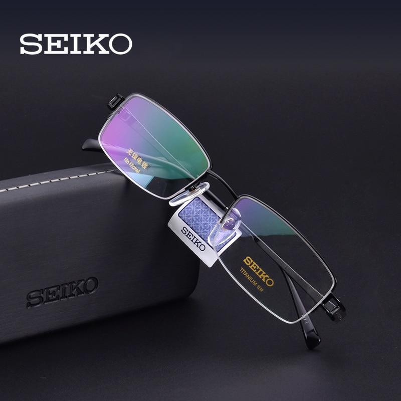 SEIKO Titan Optische Rahmen Männer Brillen Computer Brille Klar Eye Objektiv Männlichen Spektakel Brillen HT01094-in Brillenrahmen aus Kleidungaccessoires bei AliExpress - 11.11_Doppel-11Tag der Singles 1