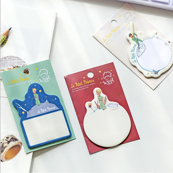 1X kawaii little Prince weekly plan Sticky Notes Post  Memo Pad stationery School Supplies Planner Stickers Paper 1x cute wreath post it notes weekly plan sticky notes post it memo pad kawaii stationery school supplies planner stickers paper
