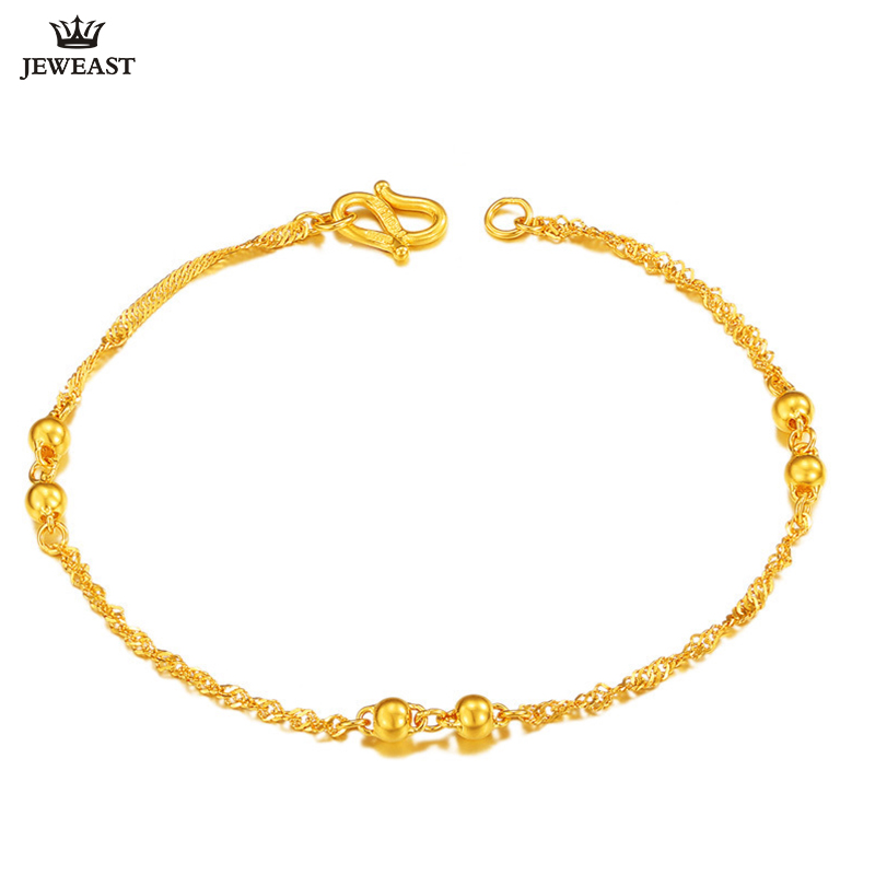XXX 24K Pure Gold Bracelet Real 999 Solid Gold Bangle Smart Beautiful Simple Fashion Trendy Classic Party Jewelry Hot Sell NewXXX 24K Pure Gold Bracelet Real 999 Solid Gold Bangle Smart Beautiful Simple Fashion Trendy Classic Party Jewelry Hot Sell New