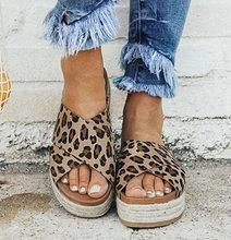 f703ac6ce5 2019 Ladies Sandals Women Fashion Platform Wedge Pumps Shoes Straw Thick  Bottom Shoes Lady Girl Roman