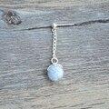 Пара Синий Световой Песок Светятся В Темноте Долго 925 стерлингового Серебра Серьги Стержня Для Женщин Корейский Ювелирные Изделия Богемный Мило